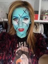 meghan camarena on twitter sally from nightmare before inspired makeup tutorial up on my youz t co 20sspaz2fk