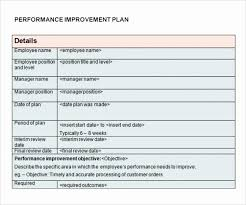Personal Improvement Plan Template Personal Improvement Plan Template Elegant Academic