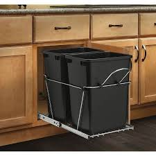 Decorative Kitchen Trash Cans Under Cabinet Trash Can Ikea Best Home Furniture Decoration