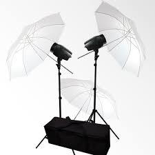 photo studio umbrella flash strobe lighting kit photography softbox light stand