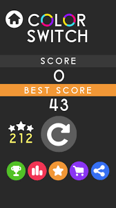 Color Switch My Best Score Youtube