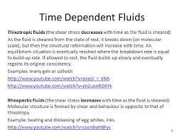 non newtonian fluid molecular structure. time dependent fluids thixotropic (the shear stress decreases with as the fluid is non newtonian molecular structure n