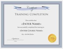 Sample Certificates Templates Free Printable Certificate Templates Beautiful Training Certificates