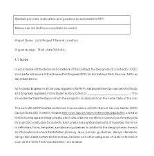 design statement of work website development scope of work template
