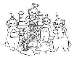 Small Picture Teletubbies Coloring Pages Photo Gallery Website Teletubbies