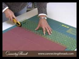 How to Make Bias Binding for a Quilt - YouTube & Ditch the ads. Adamdwight.com