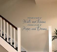 walls and beams wall art sticker home