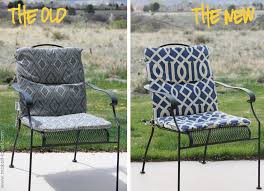 interior how to make an indoor outdoor cushion patio chair cushions regarding amazing recover pleasing