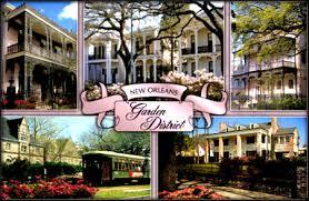 garden district new orleans walking tour map. Garden District New Orleans Walking Tour Map N