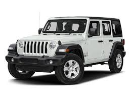 2018 bright white clearcoat jeep wrangler unlimited sahara 4 door 4x4 automatic suv regular unleaded v
