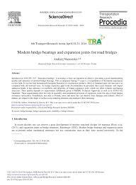 Bridge Bearing Design Guide Pdf Modern Bridge Bearings And Expansion Joints For Road