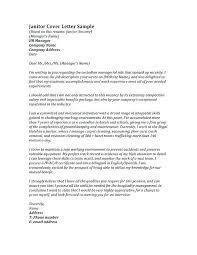 Janitorial Cover Letter Interesting Sample Janitor Resume Janitorial Cover Letter Fascinating Janitorial