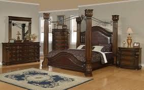 Queen Poster Bedroom Sets Exterior Collection Best Inspiration Design