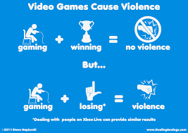 video games cause violence a video games comic dueling analogs video games cause violence