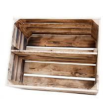 Geflammte Kiste für Schuh-/ Bücherregal (XL)