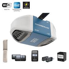 garage door openers at menardsChamberlain 114 HPS SmartphoneControlled UltraQuiet  Strong