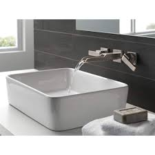 Delta Faucet T3568LF-SSWL Ara Brilliance Stainless Wall Mount ...