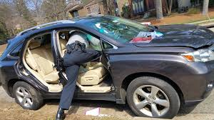 friend had his car broken into except they stole the doors and the airbags