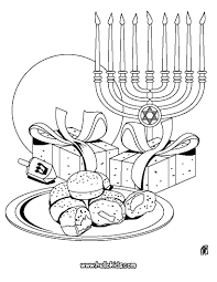 Small Picture Unique Hanukkah Coloring Pages Printable 85 With Additional