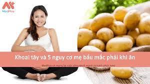 Bà bầu có nên ăn khoai tây: 5 nguy cơ mắc phải khi ăn - Medplus.vn