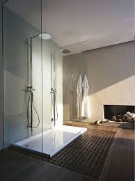 Bathroom: Stylish Bathroom With Fireplaces - Bathroom Ideas