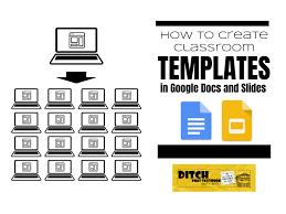 google templates how to create classroom templates in google docs and slides