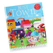 bolehdeals early childhood education kids story book 3d pop up books a busy town