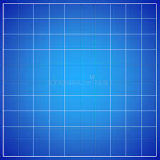 Simple Blueprint Simple Blueprint Background With Table Lines Stock Illustration