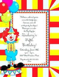 Birthday Invitation Templates Free Download Carnival Party Invitations Free Templates Carnival Party Ticket