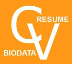 Difference Between Resume Cv And Biodata Ppt Biodata Resume Cv