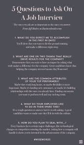 good questions to ask during a job interview 50 best advice for work interviews images on pinterest gym school