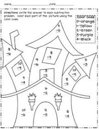 36aee8e6be9e9e0afc1d2dcadcb07ced math coloring worksheets halloween math worksheets place value candy corn and tons of other fun printables for on act math worksheets pdf