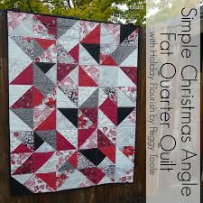 Pieces by Polly: Simple Christmas Fat-Quarter Quilt - Free Pattern ... & Simple Christmas Fat-Quarter Quilt - Free Pattern - Fat Quarter Face-Off Adamdwight.com