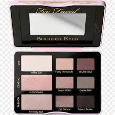 too faced boudoir eyes too faced natural eyes eye shadow hardware png