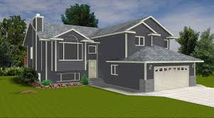 modified bi level home plans lovely bi level house plans with attached garage bibserver