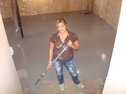 Trendy How To Paint Basement Floor With Interior Acrylic Concrete