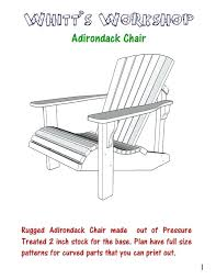 Tall adirondack chair plans Wood Plan For Adirondack Chair Image Free Tall Adirondack Chair Plans Templates Infochiapascom Plan For Adirondack Chair Chair Plans The Project Adirondack Chair