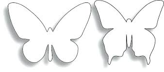 Butterfly Cutouts Template Butterfly Paper Cut Out Templates Template Post Getreach Co