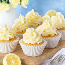 Lemon Cupcakes Charlottes Lively Kitchen