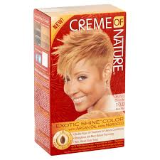 Creme Of Nature Permanent Hair Color Chart Creme Of Nature Exotic Shine Color Hair Color 10 0 Honey