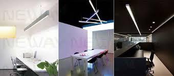 contemporary office lighting. Philips OSRAM Epistar LED Office Lighting Pendant Linear Light,modern Aluminum Led Light,fashion Chandelier Contemporary E
