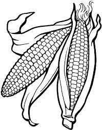 Small Picture Coloring Pages Of Corn Elioleracom