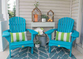 front porch furniture ideas. Bold And Bright Outdoor Decorating Ideas Front Porch Furniture