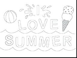 free printable summer coloring pages at to print