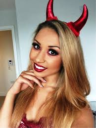 devil makeup for