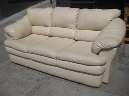 white sofa and loveseat. Image Of: Simple White Leather Sofa And Loveseat