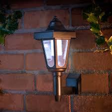 outdoor solar wall lights. Coach Style Wall Light Garden Outdoor Solar Lights Inside Decorations 13
