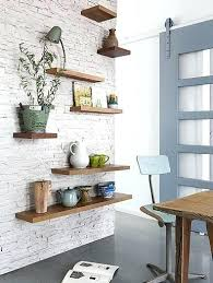 1 floating shelves for every room installing asymmetrical hanging on tile wall