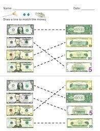 Money Worksheet For Kindergarten Kindergarten Worksheets Money Money ...