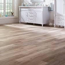 trafficmaster allure 6 in x 36 in khaki oak resilient vinyl plank flooring
